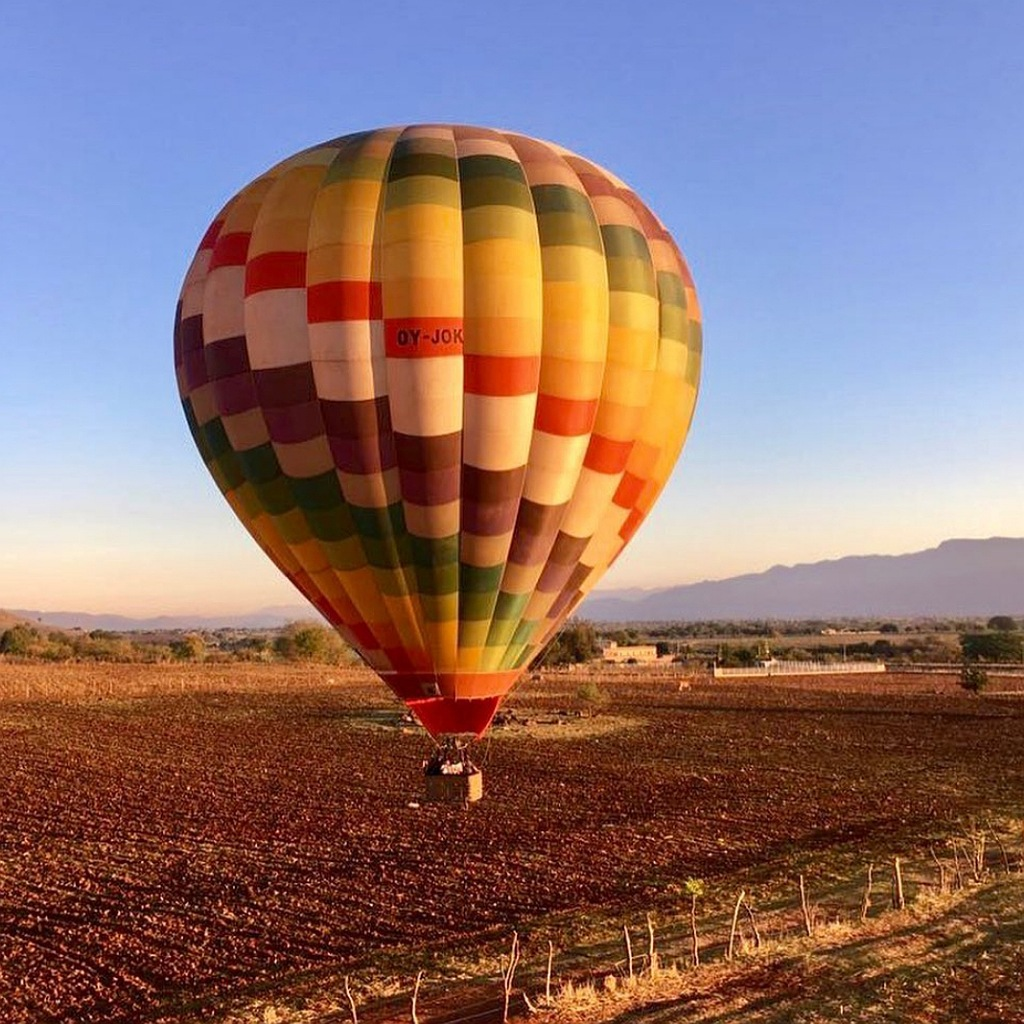 hot air ballon in Marrakech tour